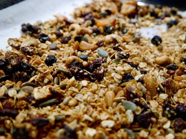 la mia granola fatta in casa